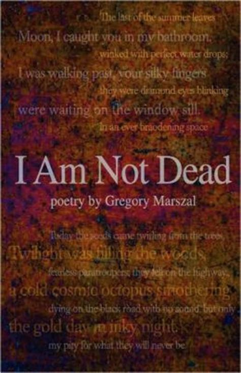i am not dead i am in the next room i am not dead poetry by gregory marszal 9780981989150 paperback barnes noble