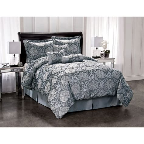 Silver Comforter King by Shop Silver King Polyester Comforter At Lowes