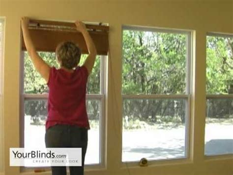 how to hang shades inside mount how to install bamboo shades inside mount yourblinds