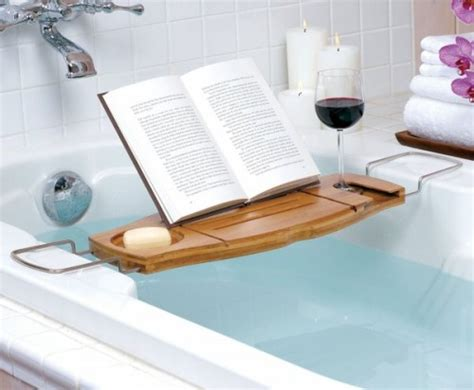aquala bathtub caddy 5 cool bathtub caddies for comfortable bathing shelterness