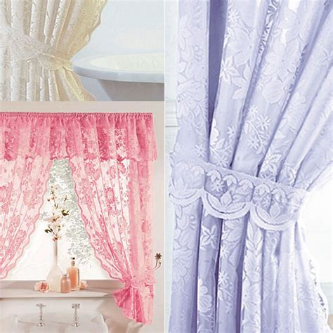 shower curtains with valance and tiebacks shower curtains with tie backs shower curtains with tie