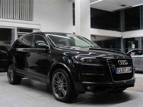 audi 4x4 for sale used audi q7 car 2007 black diesel 3 0 tdi quattro s 4x4
