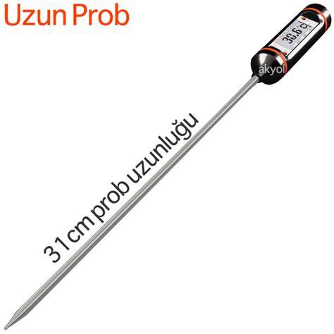 Termometer Kompos p3001 199 ubuk termometre uzun problu termometre uzun