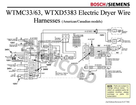 can i get a wiring diagram for bosch wtmc 3300 us01 or a
