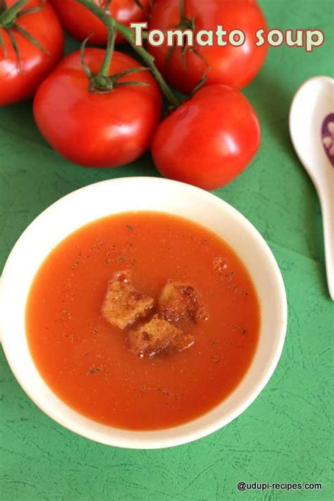 couch soup easy tomato soup recipe udupi recipes