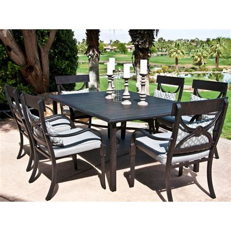 Outdoor Patio Dining Furniture Aluminum Decoration News Outdoor Dining Patio Furniture