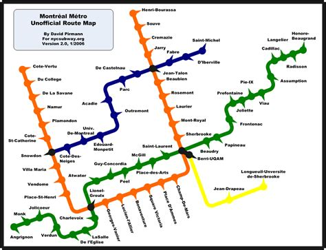 montreal metro map world nycsubway org montreal metro route map