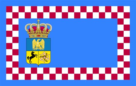 Kingdom Of Naples File Flag Of The Kingdom Of Naples 1811 Svg