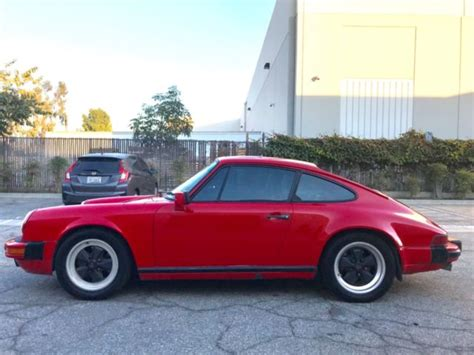 Porsche Number by 1987 Porsche 911 Coupe 3 2 Liter Matching Numbers