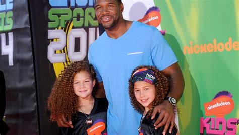 michael strahan daughter tanita strahan s twin daughters have a special talent aol features
