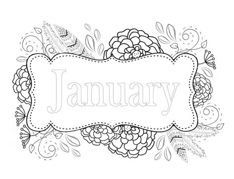 printable coloring pages for january coloring pages best coloring pages for