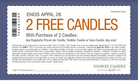 printable coupons for yankee candle 2015 yankee candle coupon b2g2 free candles expires april