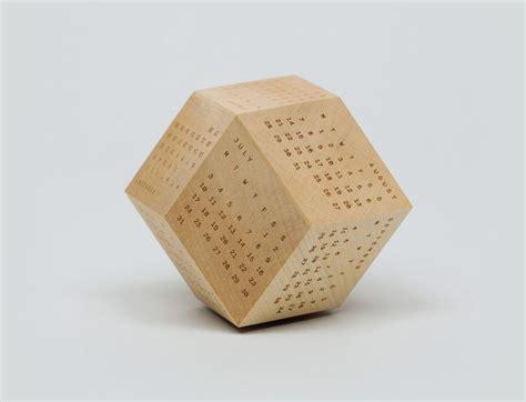 Calendar Wooden Etched Illusionary Wooden Calendars Block Calendar