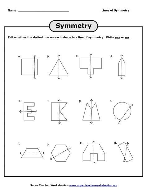 Line Symmetry Worksheets lines of symmetry worksheets lines of symmetry worksheet