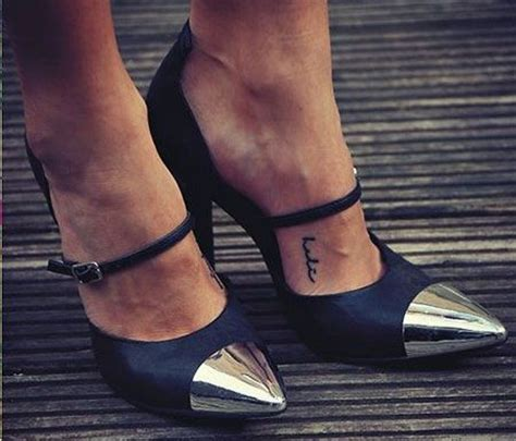 ankle tattoo placement 50 small placement ideas tattoos