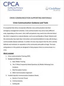 emergency communication plan template crisis communication plan template 3 free word