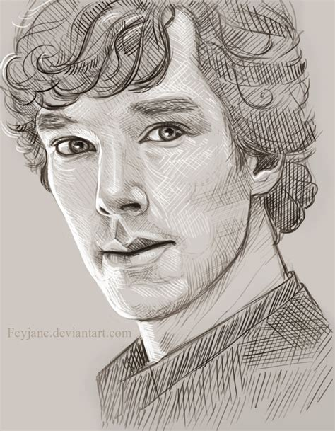 drawing images for sherlock sketch by feyjane on deviantart