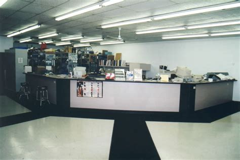 Counter Sales Industrial Shelving