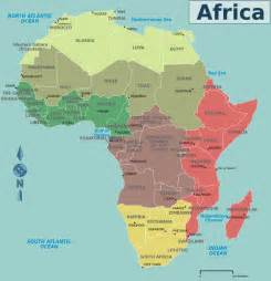 Countries Of Africa Map by Africa Countries Map Mapsof Net