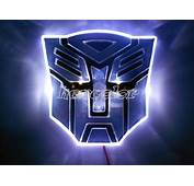 LED Transformers Autobot 3D Logo Emblem Badge Decal Car