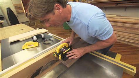 table saw bevel cut the secret to cutting thin strips on a table saw with