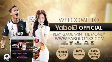 yaboid website taruhan  terpercaya terlengkap daftar    wwwyaboidcom