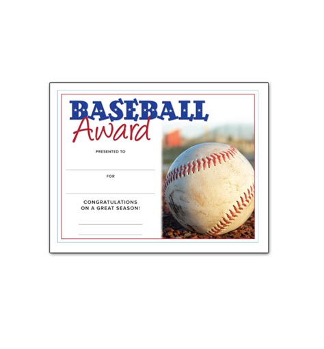 templates for baseball award certificates southworth resume paper business paper social stationery