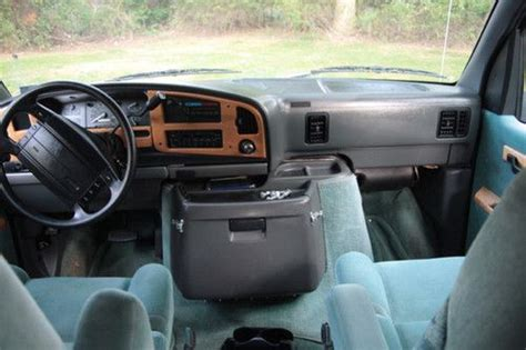 airbag deployment 1993 ford e series engine control sell used 1993 ford e 150 mark 3 conversion must sell low miles ready for road trips in