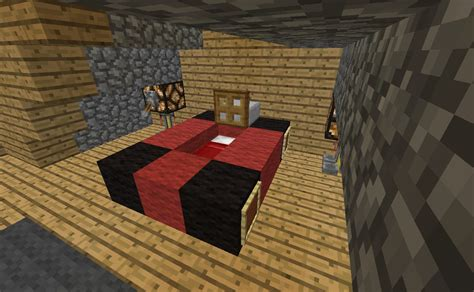 bed in minecraft minecraft furniture bedroom