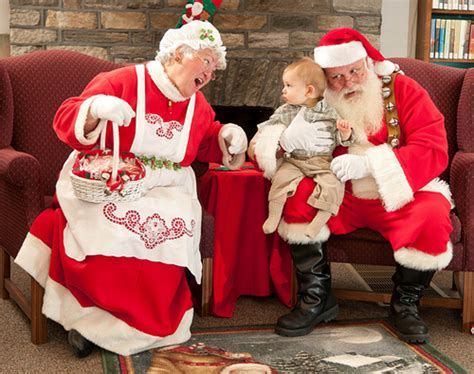 patrick meets santa and mrs claus dan sherree patrick