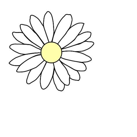 daisy template cliparts co