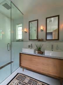 mid century modern bathroom design ideas amp remodel 35 trendy mid century modern bathrooms to get inspired