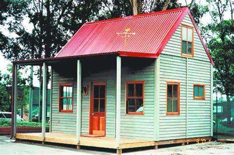 Small Cottage House Designs The Miners Cottage Cedarspan