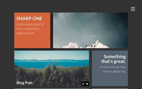 responsive one page template free sharp one responsive one page template new themes