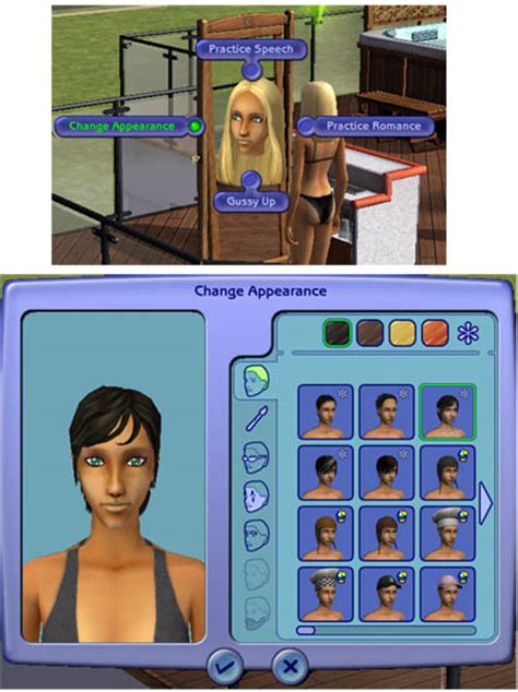 sims 2 custom content hair custom content hair sims 2 hairstyle gallery