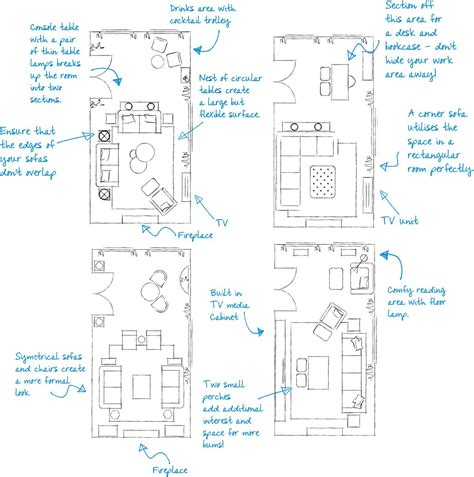 long rectangular living room layout how to plan a rectangular sitting room with exle floor