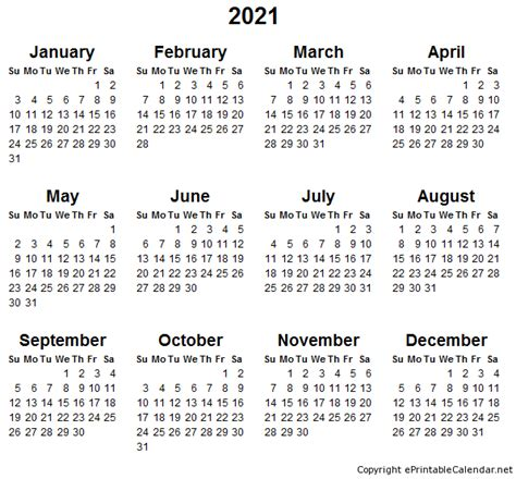 2013 Calendar Printable Pdf 2021 Free Printable Calendars Printable Calendar