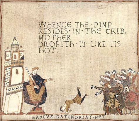 Medieval Tapestry Meme - 17 best images about bayeux tapestry funnies on pinterest