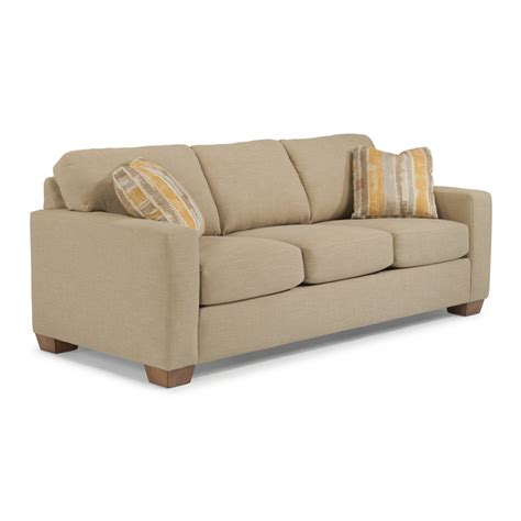 flexsteel 5707 31 kennicot fabric sofa discount furniture