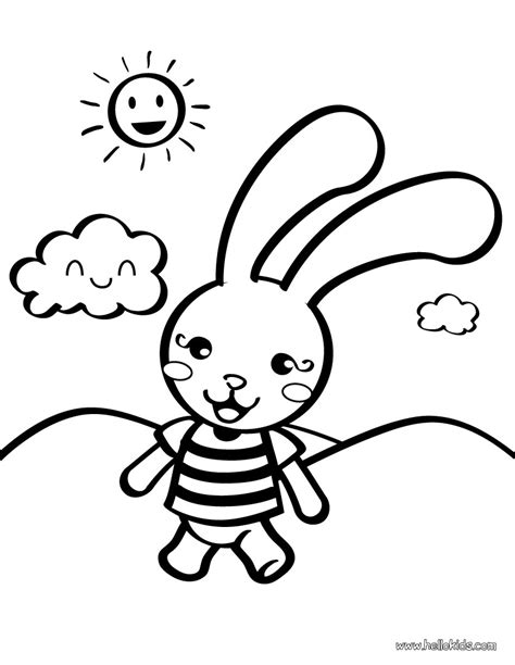 bunny coloring pages for preschoolers coloring pages for preschoolers rabbit toy clipart