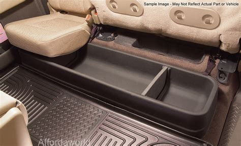 seat storage f150 2009 2014 ford f 150 supercrew with subwoofer husky