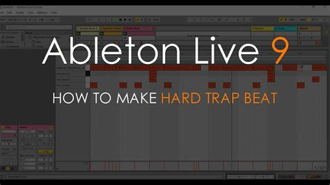 how to beatbox trap music tutorial youtube how to make hard trap beat ableton live 9 tutorial youtube
