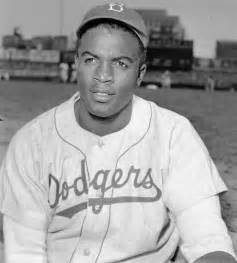 Sports in america by breaking the color barrier in baseball today