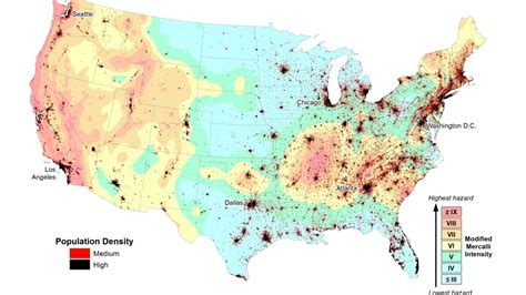 earthquake zones usa earthquake zones nearly half of americans live in one