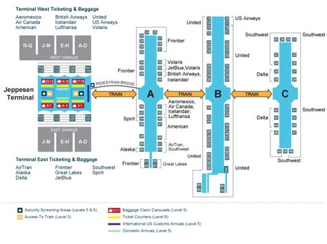 denver airport floor plan dia denver s incredible airport panethos