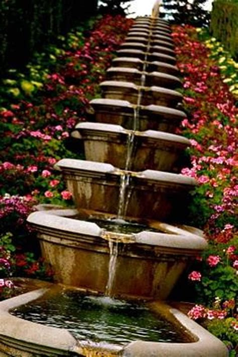 pictures of backyard water fountains backyard design ideas