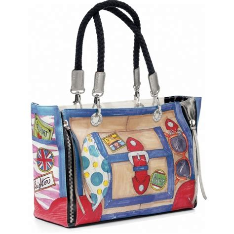 St Tropez Tote by Brighton Handbags Jewelry Charms Eyewear Made With