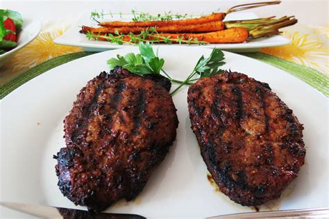 grilled filet mignon peanut butter and peppers