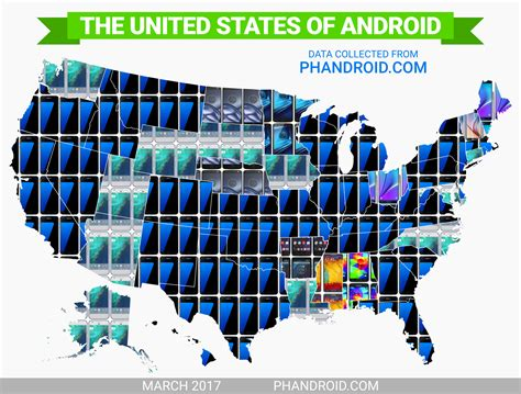 most popular android the most popular android phone in every state