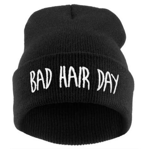fashion cool unisex letter soft ski knit beanie hat cap